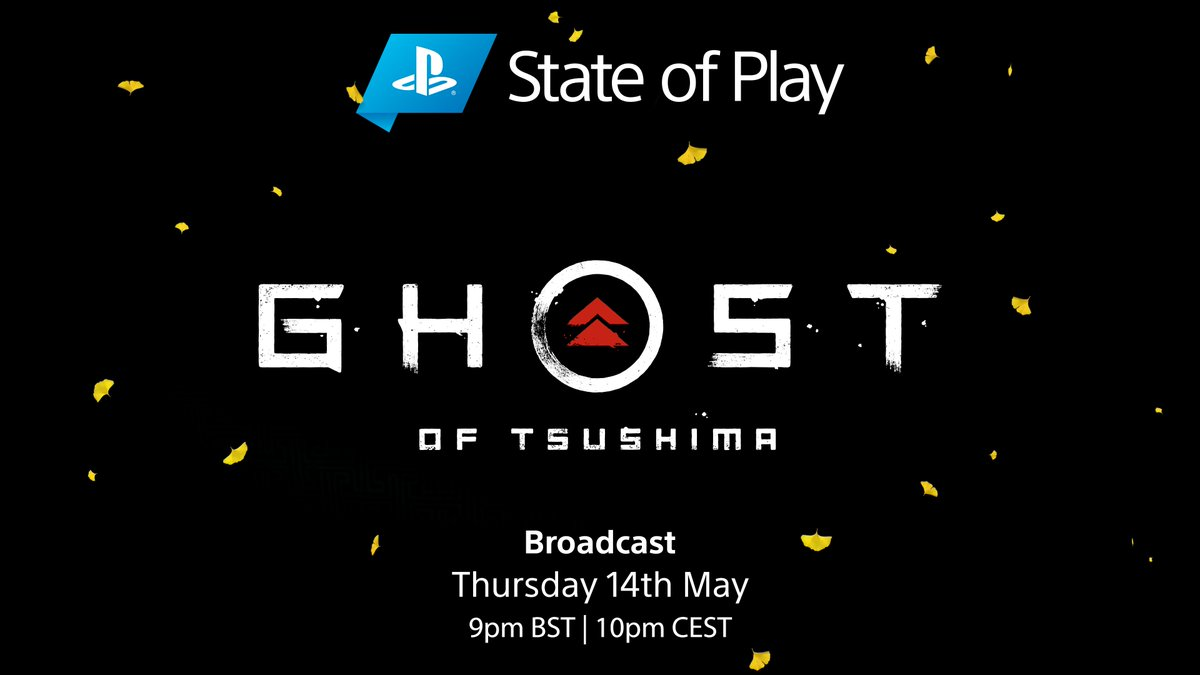 State of Play's next episode is dedicated to Ghost of Tsushima.   Join us this Thursday at 9pm BST. https://t.co/4scx0uvhO8 https://t.co/bWSTadxxhs