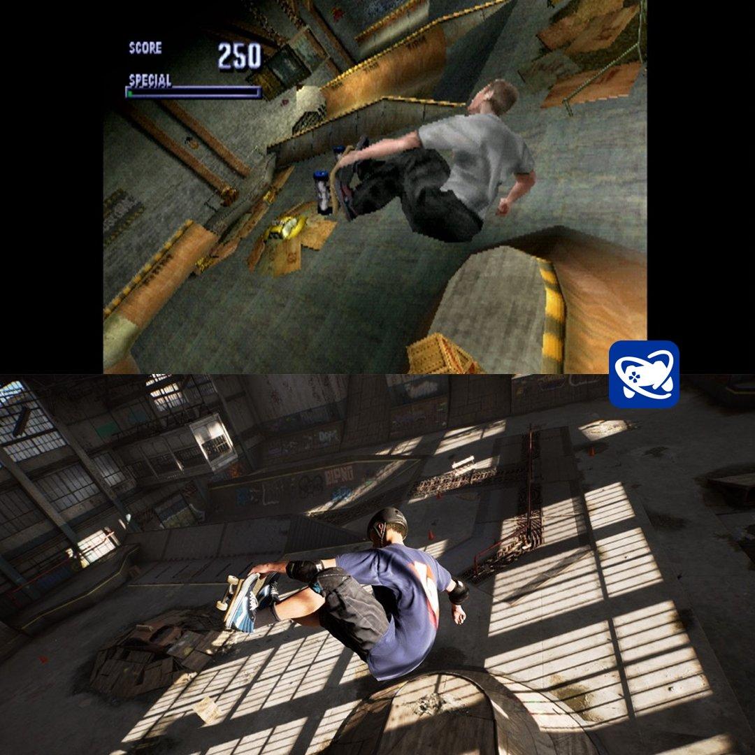 Comparação entre Tony Hawk's Pro Skater original e remaster: incrível!
