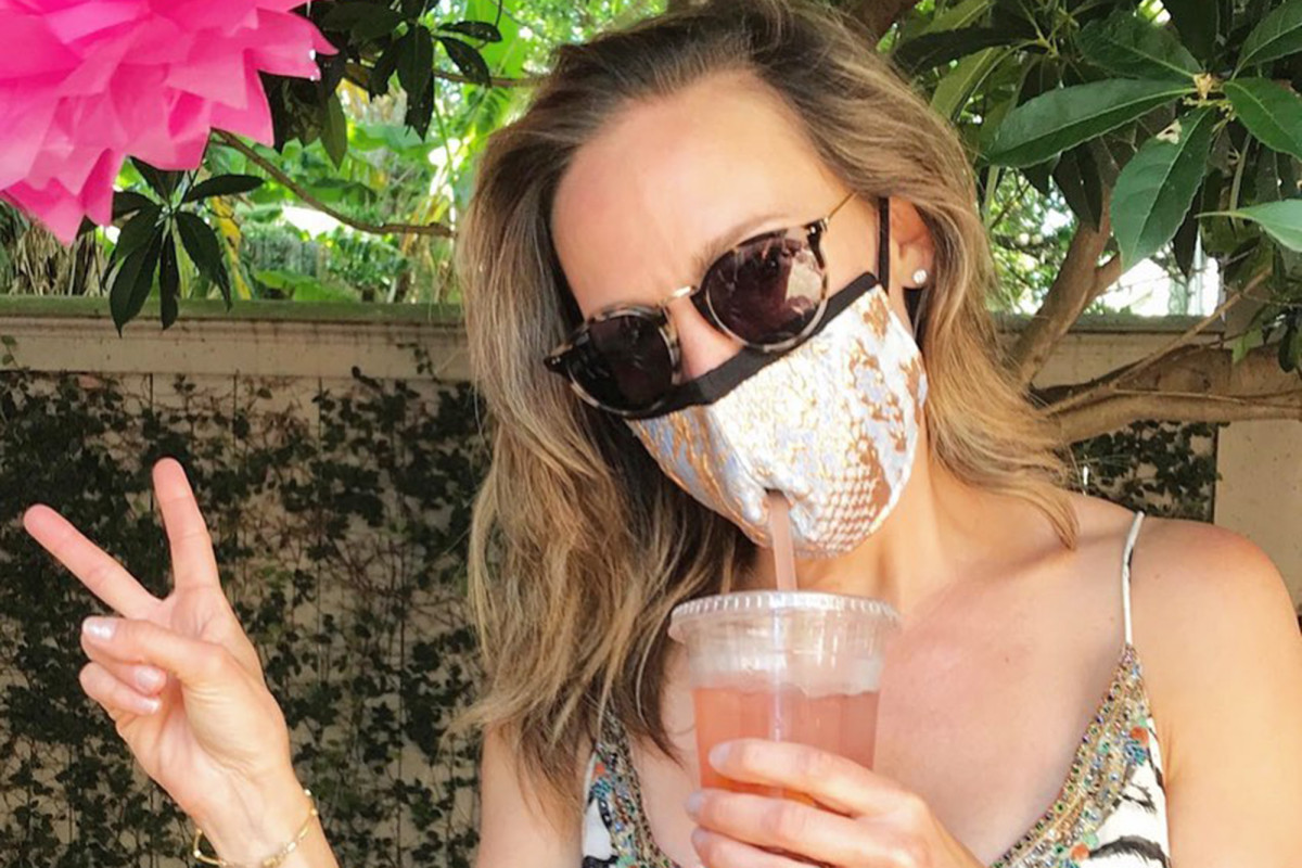 These face masks come with a straw hole for sipping cocktails https://t.co/bAx4r6ydwx https://t.co/WtGmn7zNio