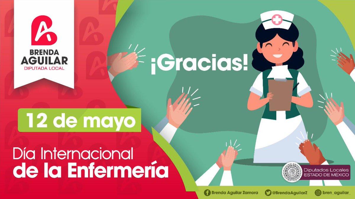 Hoy más que nunca reconocemos a todas las enfermeras y enfermeros que han puesto su vida al servicio del cuidado de la de los demás. ¡Gracias por haber elegido una profesión tan valiente! 👏  #DíaInternacionalDeLaEnfermería https://t.co/RG8Mijk9ww
