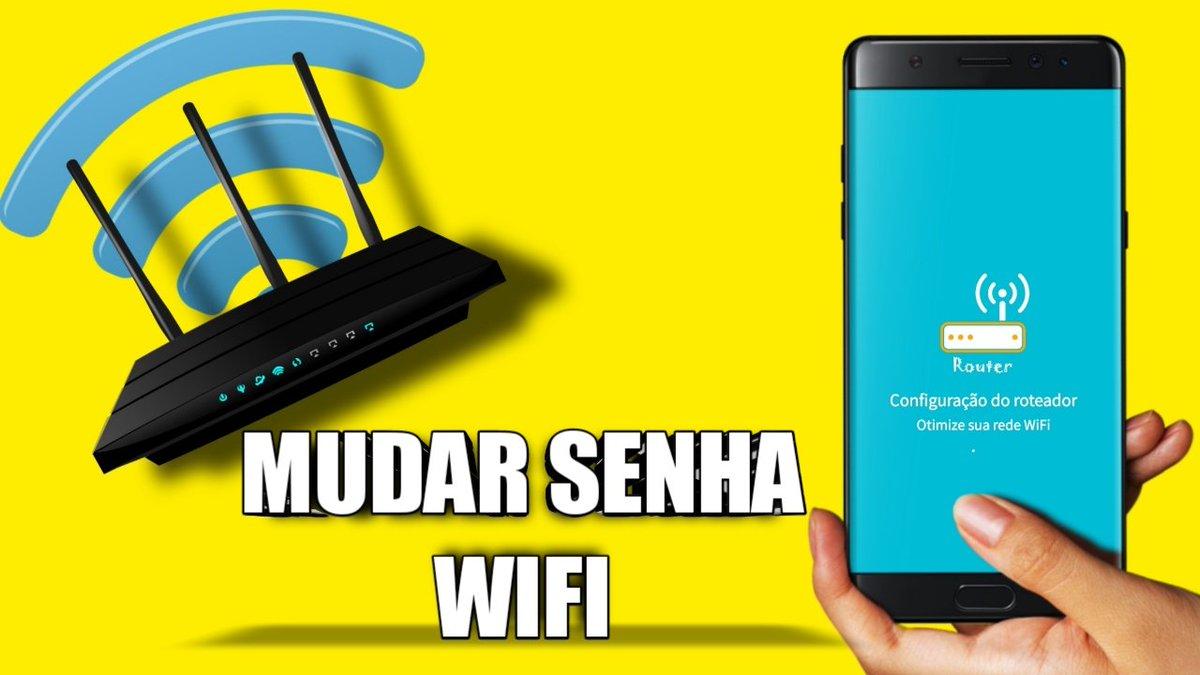 Como mudar a Senha do Wifi roteador  #senha #wifi #mudar #internetwifi #internete #sinal #roteador #celular  #androd #app #aplicativo #railsonmartins https://t.co/lfGthjm5Bf https://t.co/nupxFVBg6T