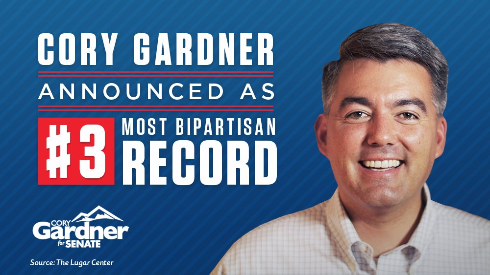 .@CoryGardner continues to work across the aisle to deliver results for Coloradans. #COSen #copolitics coloradopolitics.com/quick-hits/gar…