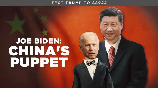 Meet Joe Biden: China's Puppet