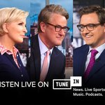 Image for the Tweet beginning: .@MSNBC anytime. Listen live on