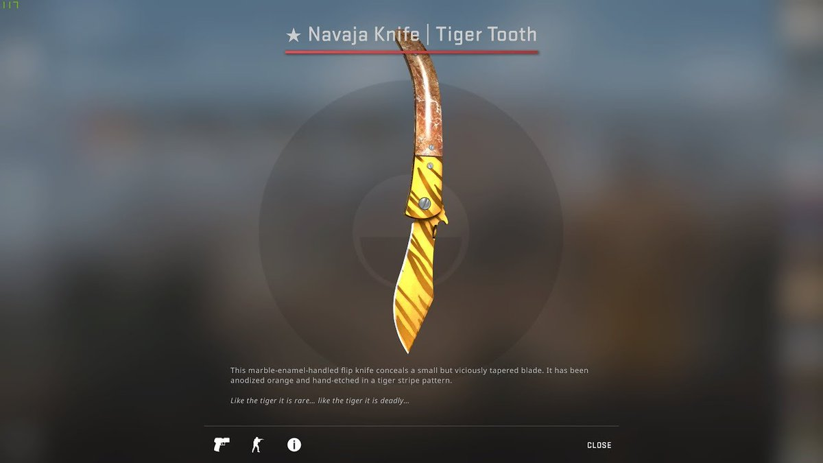 Navaja Knife Tiger Tooth FN Giveaway, Sponsored by @DaddyskinsCSGO   How to enter?  - Follow @smooyacs & @DaddyskinsCSGO  - Retweet  Winner will be picked on the 19th of May. GL&HF https://t.co/qKonMwdGce