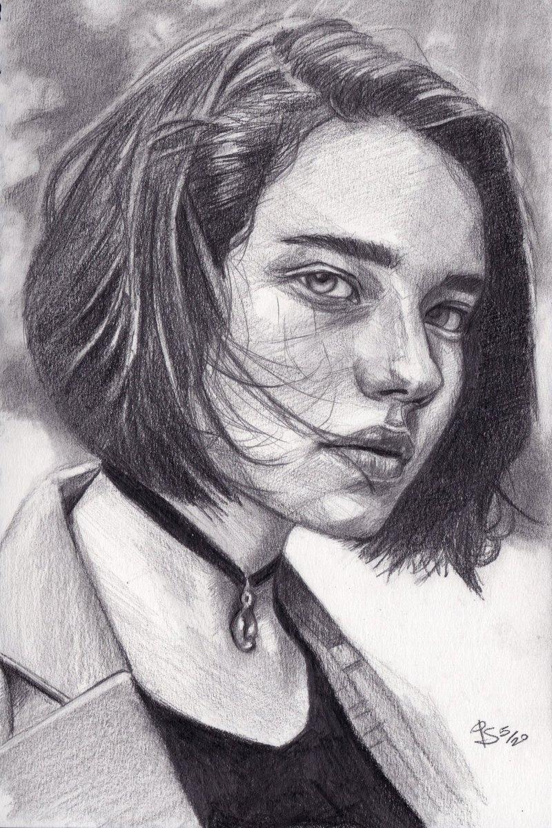 #graphite #portrait on #sketchbook photo ref. by  Lara on Reshot  #art #handdrawn #handdrawnart #teamdli  #pencildrawing #graphitedrawing #artist #pencil #graphite #illustration #italianartist #drawsomethingshowcase #united_artists_art_pic.twitter.com/R27IIG8fEp