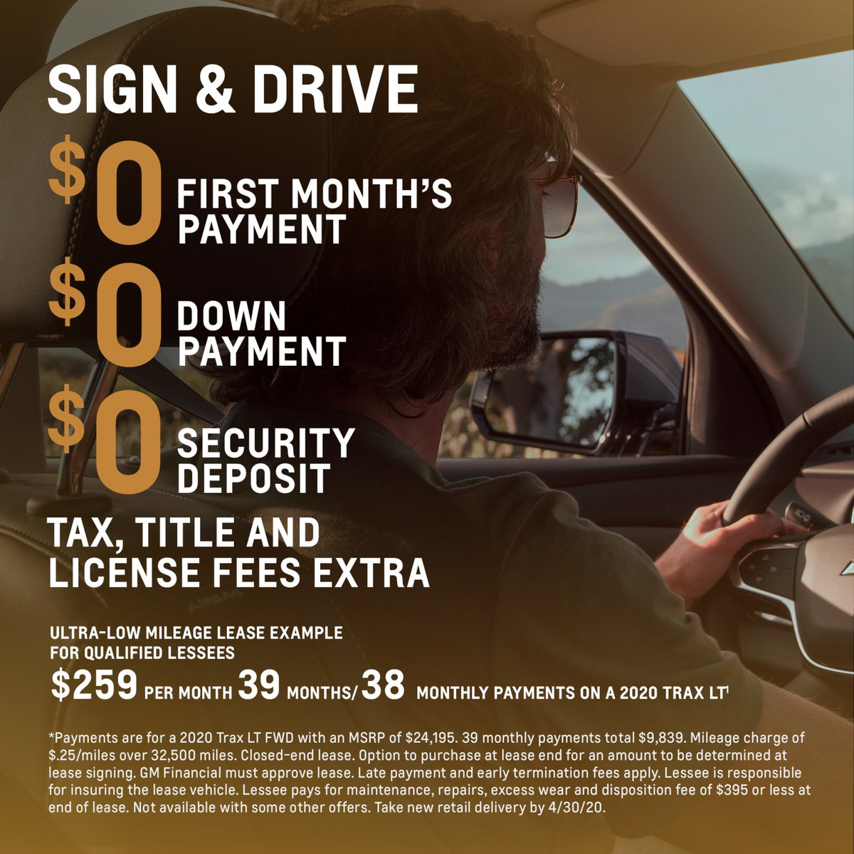 Stephen Wade Chevrolet Cadillac On Twitter Interested In A New Car Why Not Try The Super Sporty And Super Affordable Trax 0 First Month S Payment 0 Down Payment