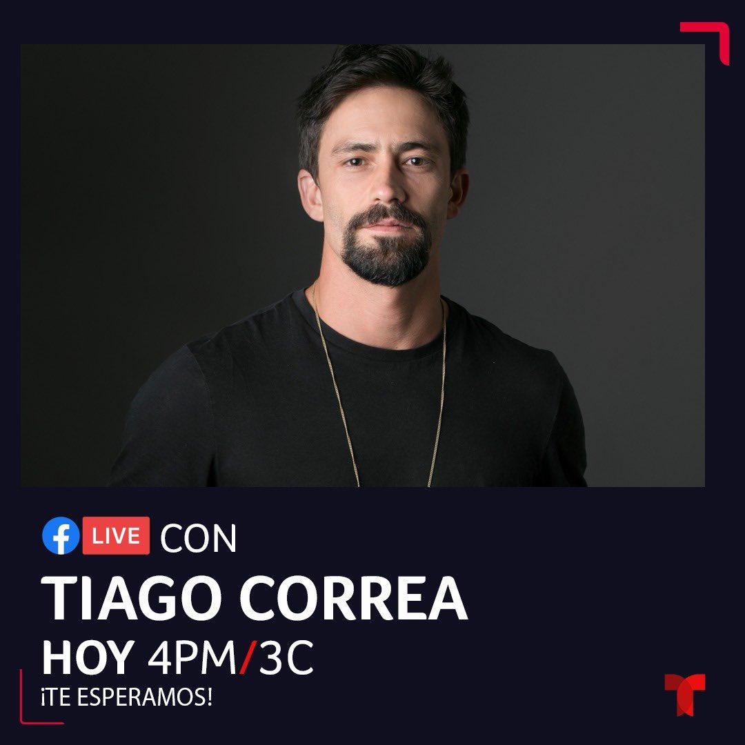 Faltan dos horas para el live de @Tiago_CorreaG con Telemundo.  #TalentoMV https://t.co/QXckqeybSW