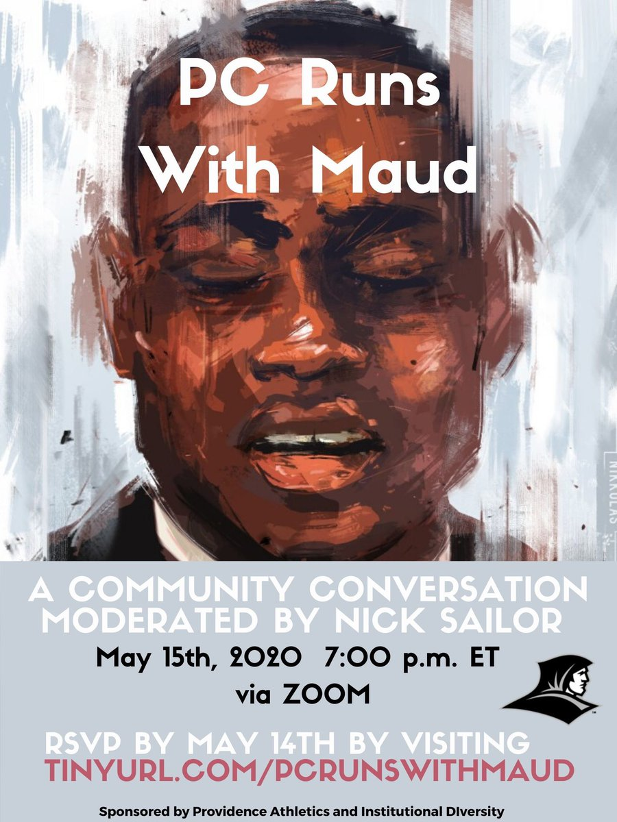 We stand together. Be a part of a community conversation moderated by Men's Soccer alumni @nsailor22 #PCRunsWithMaud @PC_IDEI