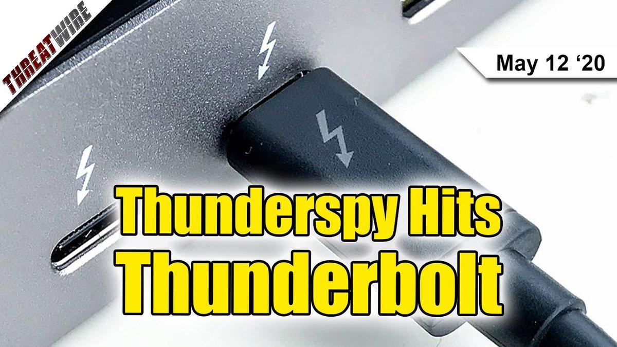 DEF CON Enters Safe Mode, #Thunderspy ... - https://team.userinterface.us/def-con-enters-safe-mode-thunderspy-attack-hits-thunderbolt-threatwire/… #UIX #BlackHat #Blackhat #Convention #DarrenKitchen #DefCon #DefCon28 #DefConEntersSafeMode #DefConIsCanceled #DefConIsCancelled #Defcon #Defcon28 #DefconIsCanceled #Encryption #EndtoendEncryption #Hack #Hack5 pic.twitter.com/vnt3znBHuD