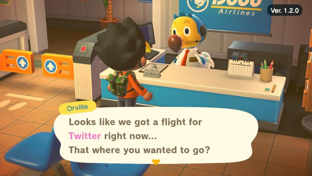 Villagers! Looks like there might be some flights to Twitter Island on Friday.  Who's ready to book a trip? https://t.co/SP2b2aWM54
