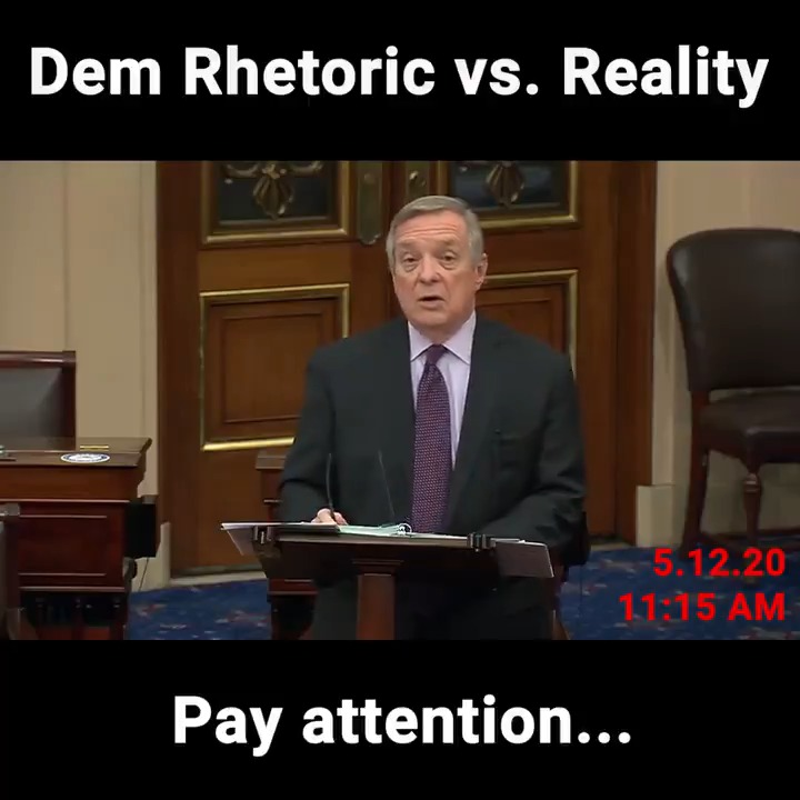 👀 @SenatorDurbin never lets the facts get in the way of his liberal talking points: