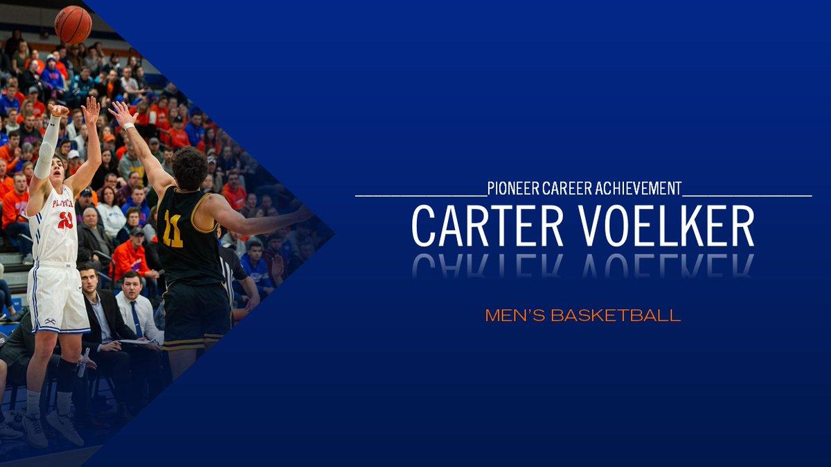 Pioneer Career Achievement Award Winner - Carter Voelker of @Platteville_MBB  #PeteyAwards #SwingTheAxe https://t.co/9Tqn1bgv4a
