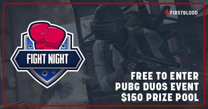 Image for the Tweet beginning: $150 Prize Pool #PUBG Duo