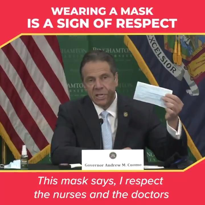 Show respect. Wear a mask.