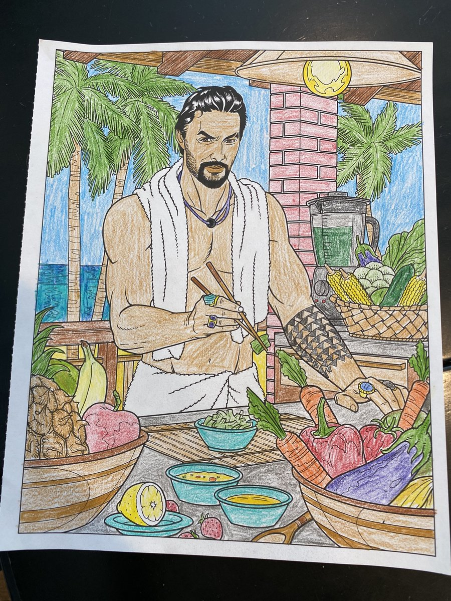 Kathy Gibson On Twitter My Niece And Nephew Love The Jason Momoa Coloring Book I Sent Them Future Editions In The Crush And Color Series Include Keanu Reeves And Idris Elba Both