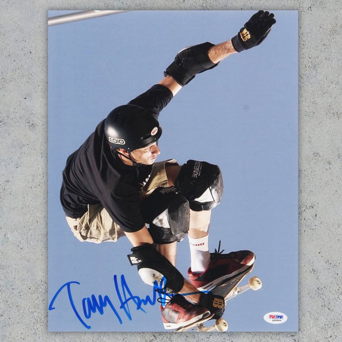 Happy birthday to Tony Hawk You think he can still land a 900?