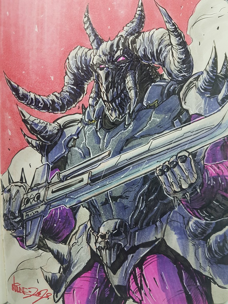 Alex Milne On Twitter Skullgrin Sketch This Was My First Transformer From The Pretenders Line Needless To Say I Was Hooks On The Decepticon Pretenders Transformers Hasbro Idw Copicmarkers Sketching Https T Co Kao8bdugmm