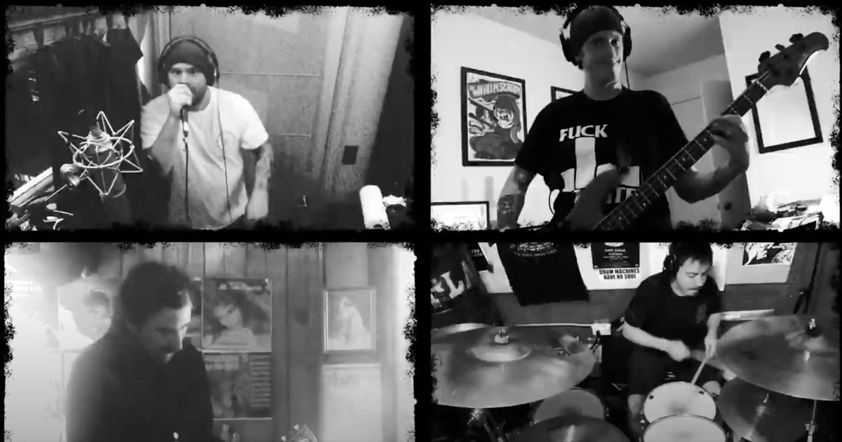 watch members of The Bouncing Souls, A Wilhelm Scream, The Flatliners & more cover Descendents in quarantine brooklynvegan.com/24-new-songs-o…