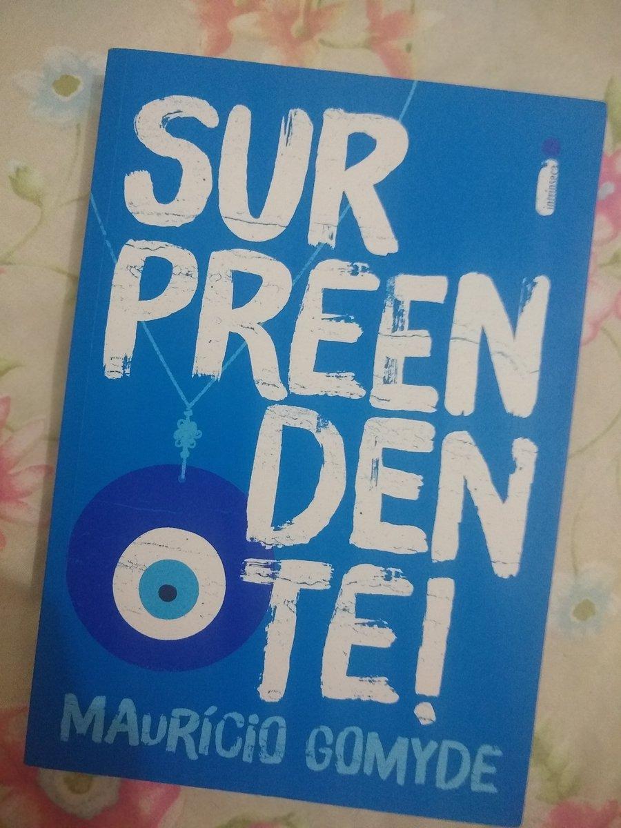 Bora iniciar mais um... 💙  #book #livro #leitura  #mauriciogomyde  #surpreendente #amoler