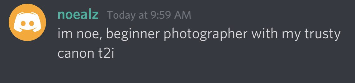 "Quick word for aspiring photographers out there. You shouldnt go around trying to get ""approval"" from other 'bigger' photogs. Big following doesnt mean they know what theyre doing. Your art is your own, dont seek validation from others - do your own thingpic.twitter.com/St5NGRDpkH"