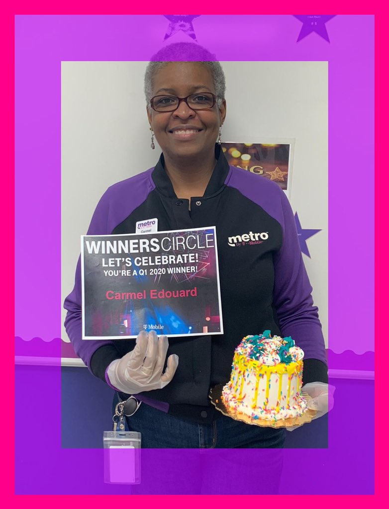 Congratulations @CREdouard for being nominated for this award! You are not only @MetroByTMobile Hero but Q1 WC winner as well. Thank you for all you do for SFL - South!!! 💪@Shaniqu64802016 @greggunn850 @sroberts1402 @mick4077