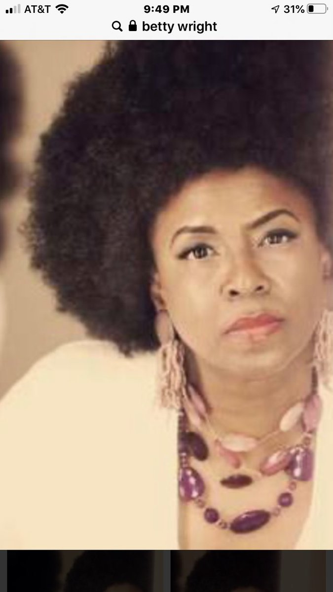 Thank you for your influence and your spirit Betty Wright..there will never be another Clean Up Woman.. https://t.co/LLsCcu8gwz
