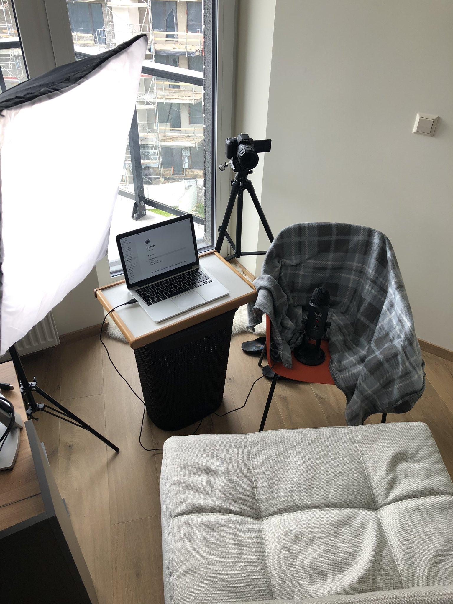 Youtube set-up
