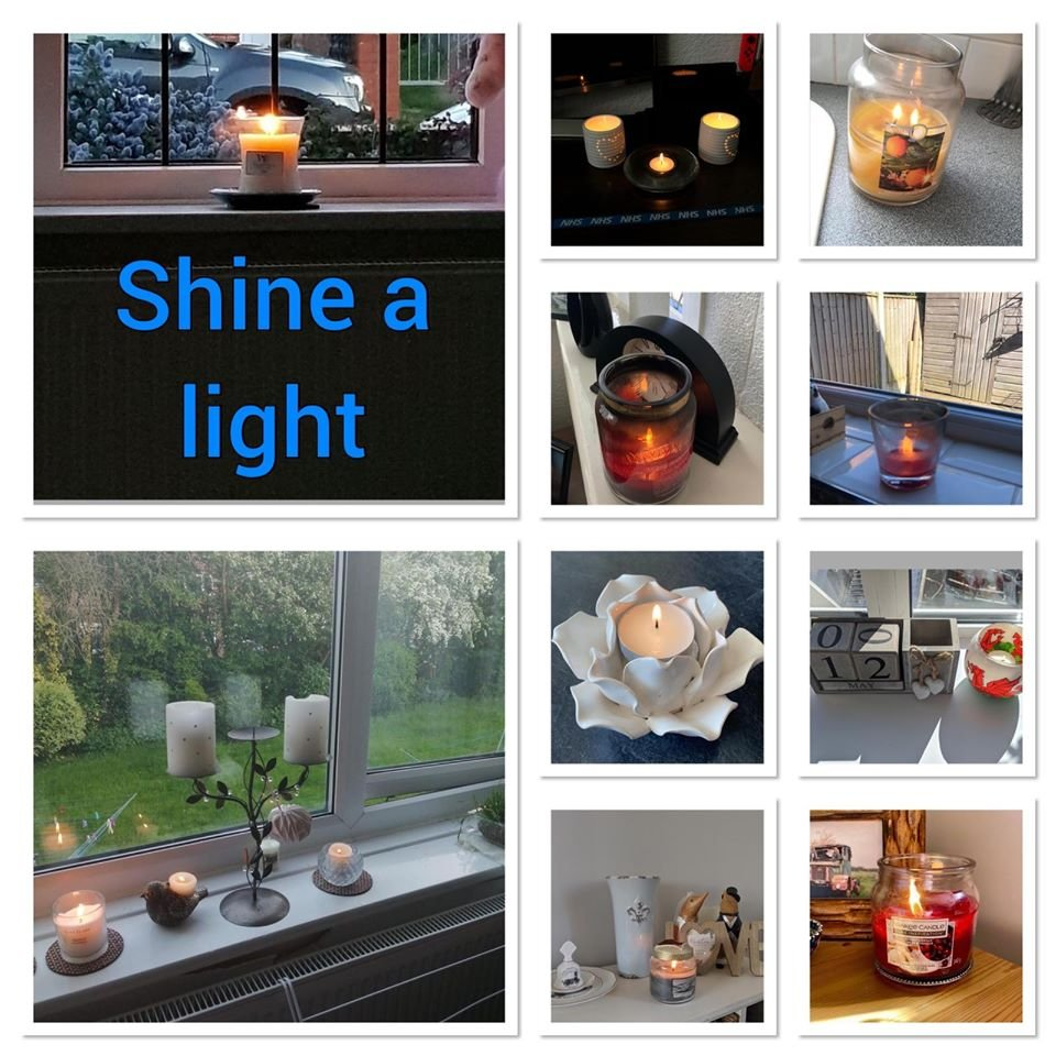 People were asked to shine a light at 8.30pm last night for all of our hard working nurses and we have received some lovely images of how people shone their light for nurses in their own way. #internationalnursesday #NHS #StayAtHome #BTH @BlackpoolHosp @CliftonHospital