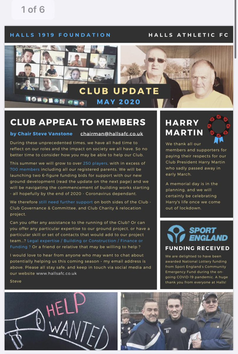 test Twitter Media - MAY CLUB NEWSLETTER OUT NOW (6 pages) https://t.co/jTLo7GAd9F https://t.co/6yten6jG4f