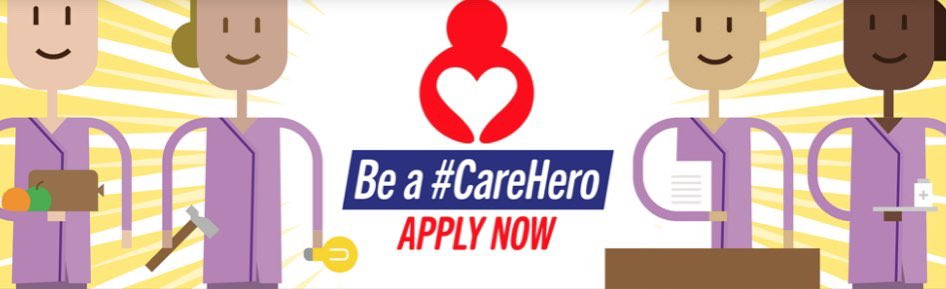 test Twitter Media - Since launching our recruitment campaign 4 weeks ago, we've had almost 700 applicants across the North West 🥳.   If you're one of them, we'd love to hear how things are going and how you're making a difference to peoples lives. #CareHero ❤️ https://t.co/9b3DI1Kxc8
