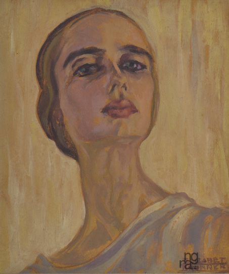 self portrait by Elizabeth Brunner