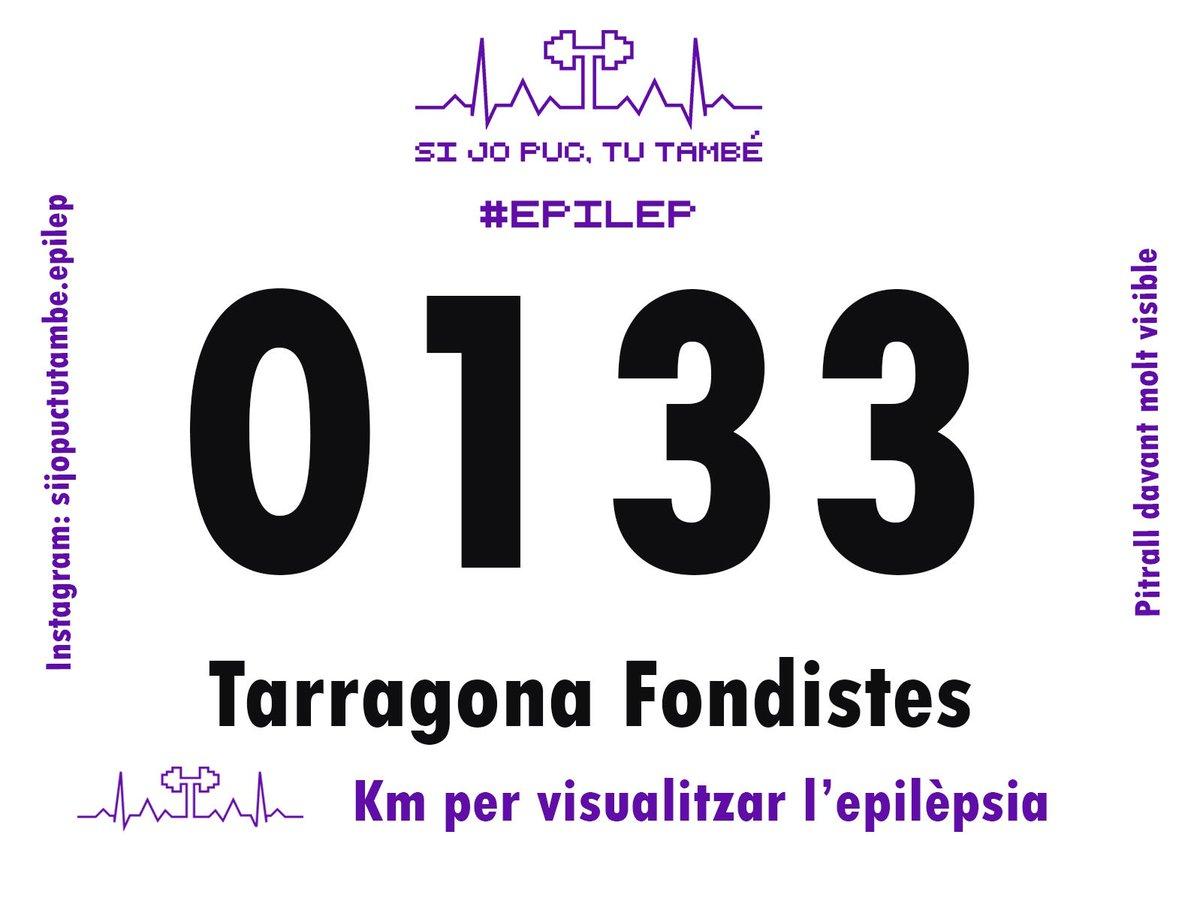 """TARRAGONA FONDISTES s'uneix a la iniciativa """"Si jo puc, tu també"""" i fer km, que és el que ens agrada fer,  per tal de visualitzar l'Epilèpsia 💜 #epilep #epilepsia #kmxepilepsia #sijopuctutambe_epilep https://t.co/laS7q1g8Dg"""
