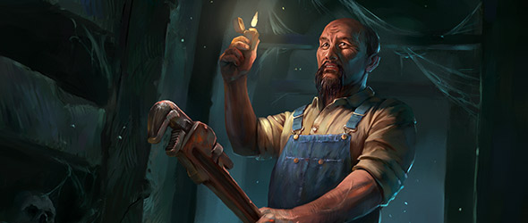 Curious about how to start playing Arkham Horror: The Card Game solo? Read today's guest article for a closer look at solo deckbuilding in the game! #ArkhamHorror #LCG  https://t.co/FEytUaLGtA https://t.co/7SvW3ndmCJ