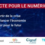 Image for the Tweet beginning: Syntec Conseil, @syntecnumerique, @Cigref et