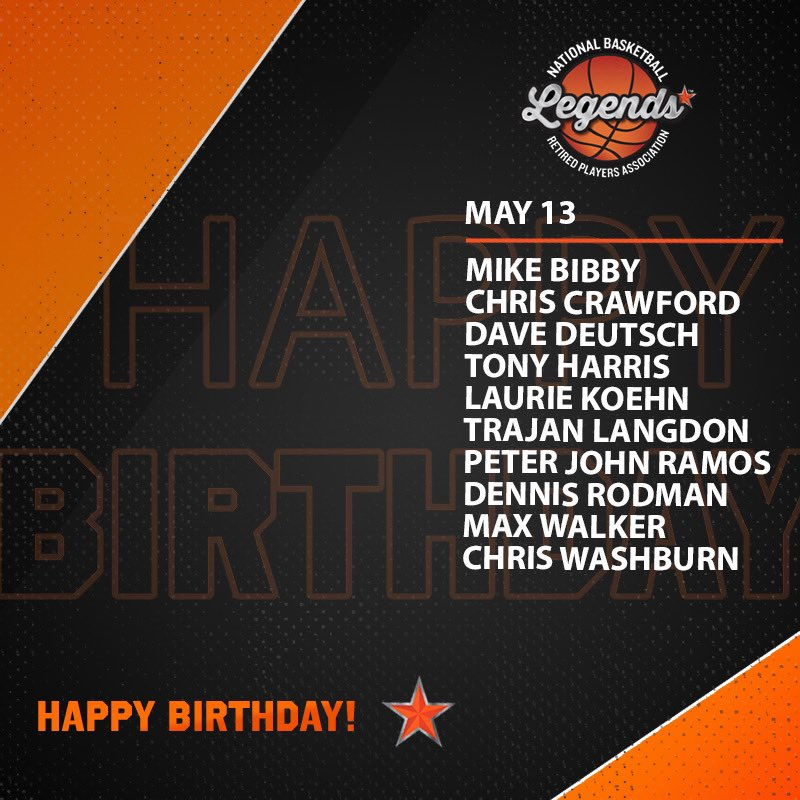 Wishing a HAPPY BIRTHDAY to these Legends and @Hoophall Inductee @dennisrodman 🎉   #LegendsofBasketball #NBABDAY #WNBABDAY #HOFBDAYS #TheLastDance https://t.co/jbYGcd2pZK