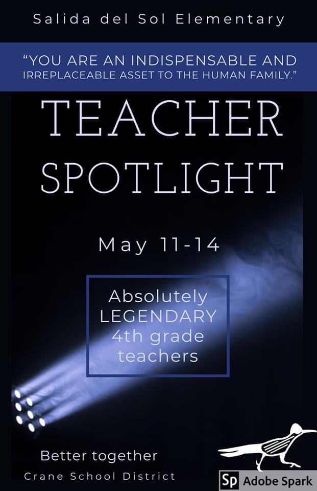 @MrsBowling1 brings so much of herself to her teaching! #AppleDistinguishedSchool #salidastrong #roadrunnersrock #WhyCrane #WeAreCrane #closednotclosed #spotlight #teach #fourth<br>http://pic.twitter.com/igqm1mQIWr