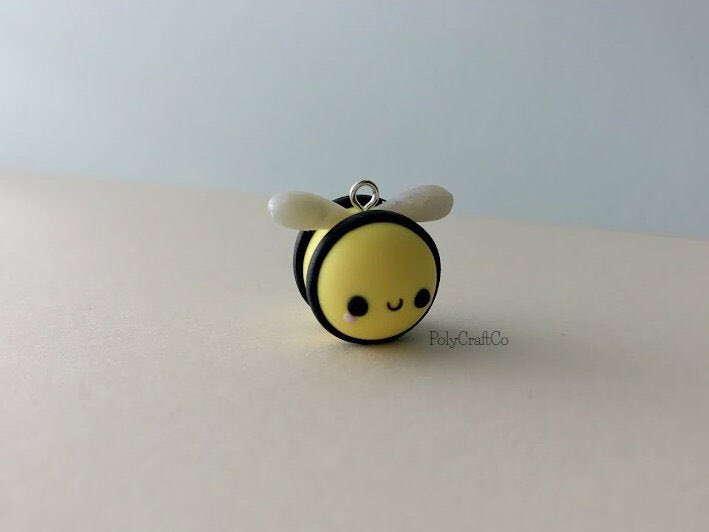 Look who buzzed back into my #etsy shop: Bumble Bee Charm - Polymer Clay #bee #bumblebee #polymerclay #charm #jewerly #polycraftco #claycharms #claycreations #handmade #etsyshop #handmadejewerly #honeybee #polymerclaycharms https://etsy.me/2T4YwXMpic.twitter.com/IcDF1DhidL