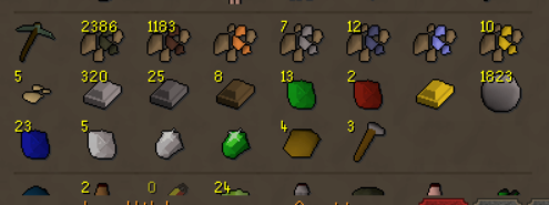 """The F2P HC, just finished mining 1500 iron and 3000 coal to make steel bars, just for a """"fun"""" grind and get some lvls and sell it for some gps.... keep on smelting https://t.co/sjzBMMGdUq"""