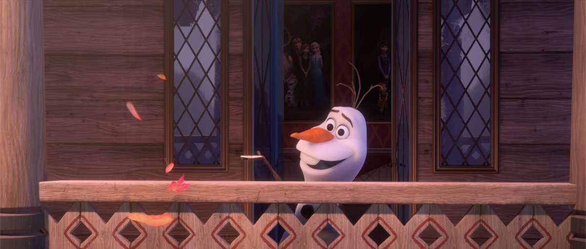 """Wherever you may be, here's a special message from Olaf's home to yours. """"I Am With You"""" Music and Lyrics Written at Home by Kristen Anderson-Lopez and Robert Lopez. Performed at Home by Josh Gad. Directed at Home by Dan Abraham. #AtHomeWithOlaf #DisneyMagicMoments"""