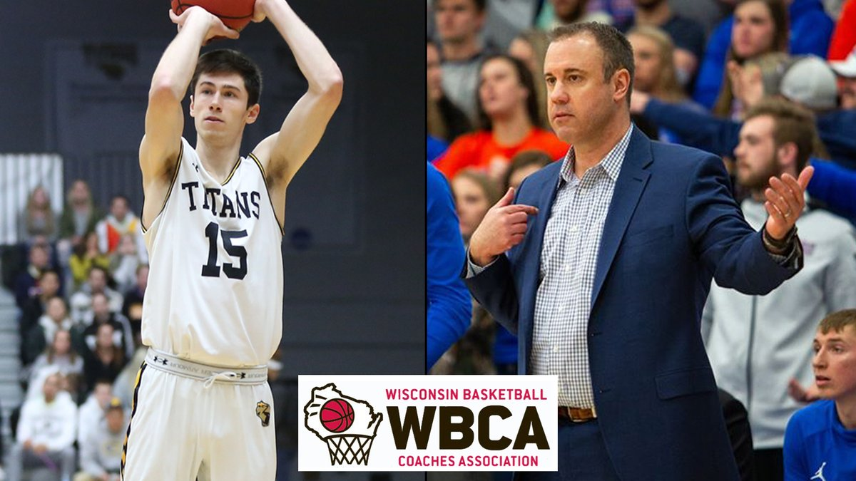 #WIACBBALL | @UWOshkoshTitans Fravert and @uwp_pioneers Gard Collect Wisconsin Basketball Coaches Association Honors: https://t.co/jyj8qROUjR https://t.co/AhvsJG7ddy