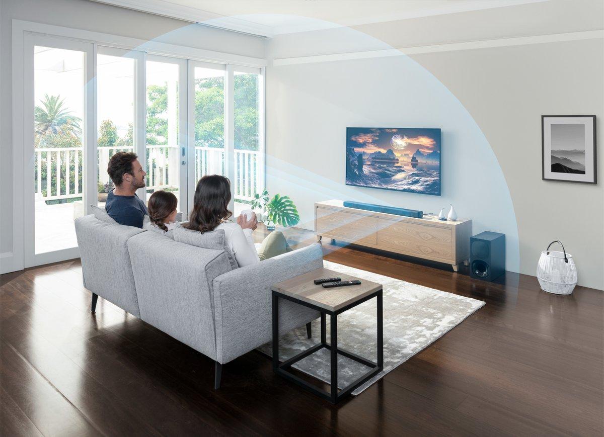 Sony introduceert de HT-G700 en HT-S20R soundbars. Hiermee breidt Sony het bestaande home-videoassortiment uit om liefhebbers van films, muziek, games en andere vormen van entertainment de ultieme bioscoopopstelling in de woonkamer te kunnen aanbieden: https://t.co/qINZooMRuI https://t.co/1yQ1iCiv8o
