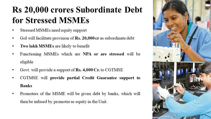 Measures for MSME
