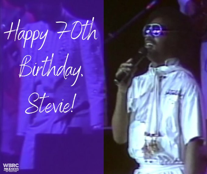 Happy birthday Stevie Wonder!