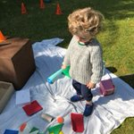 Rafael loved leading the way in the search for shapes with his little brother!  #EYFS #Nursery #Dover #thinkdifferently #thinkdovercollege