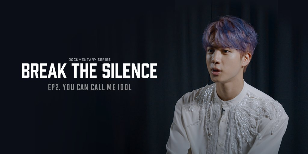 Watched BREAK THE SILENCE: DOCU-SERIES on Weverse yet? If you havent, go to Weverse and watch episodes 1 & 2! EP2. YOU CAN CALL ME IDOL 👉 app.weverse.io/q4a2tn 💡 New episodes every Tuesday & Thursday at 9 PM (KST). #BREAK_THE_SILENCE