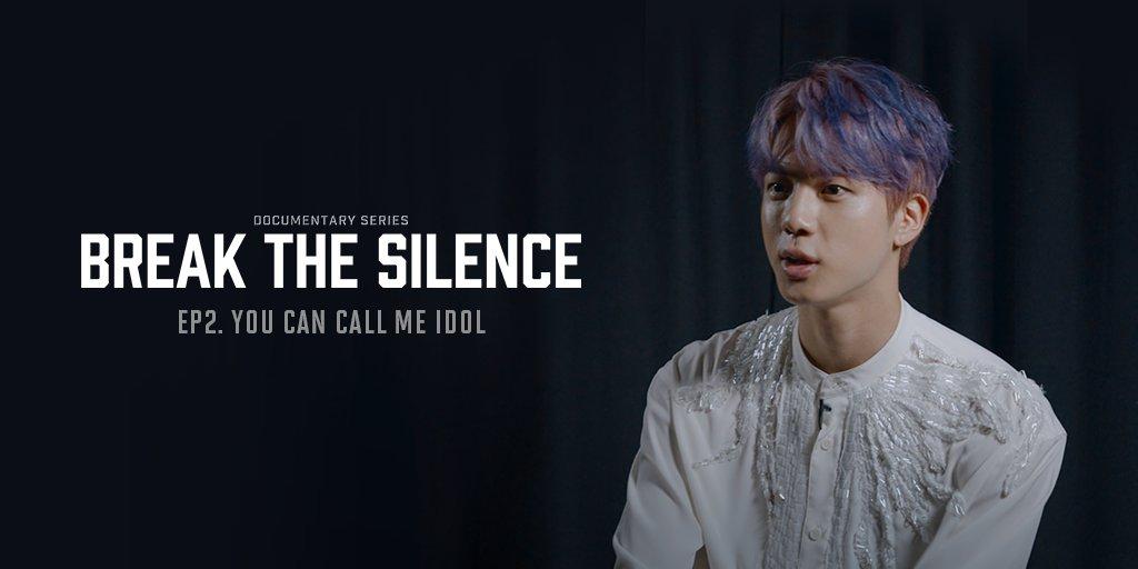 昨日 #Weverse で「BREAK THE SILENCE: DOCU-SERIES」が公開されました。 まだご覧になっていない方は、ぜひWeverseにて第2話までどうぞ! EP2. YOU CAN CALL ME IDOL 👉 app.weverse.io/q4a2tn 💡毎週火・木曜日の午後9時配信 #BREAK_THE_SILENCE