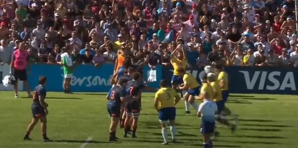 @brasilrugby hoje nos Canais ESPN ! Nesta quarta 13/5 - 12h30 Americas Rugby Championship 2019 ARGENTINA XV x BRASIL – ESPN 2 Buena partida! Vamos Nessa? #rugbynaespn #rugbybrasil #rugby @ESPNBrasil