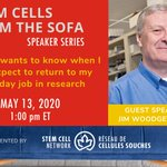 Image for the Tweet beginning: Reminder: Stem Cells from the