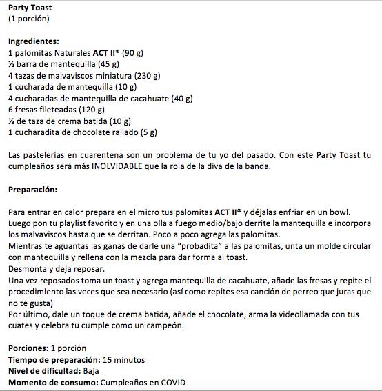 ¿Video party? 🎈 Arma tu propio pastel y #ponlepalomitas a las fiestas online. https://t.co/p20YydANst